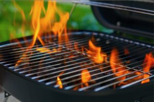 Cover photo for Grilling Safely at Home